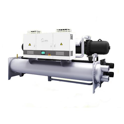 高效降膜式变频螺杆式冷水机组
